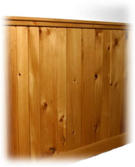 Knotty Pine Wainscoting by Luther Vandross Knotty Pine Paneling