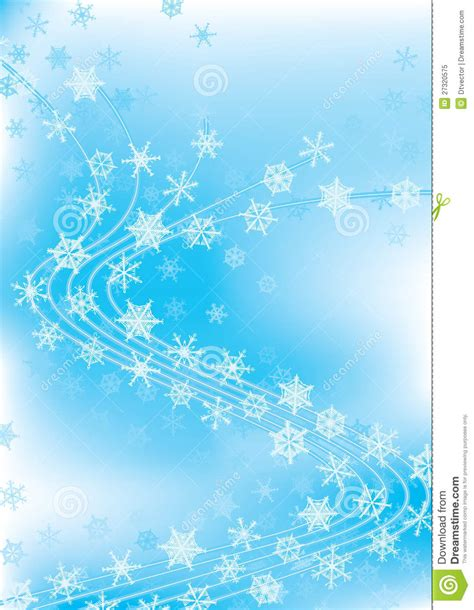 Winter Celebration Dancing Snowflakes eps Royalty Free Stock Photo   Image: 27320575