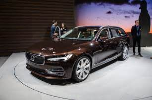 What Is A Volvo The Volvo V90 Is The Automaker S New Flagship Wagon
