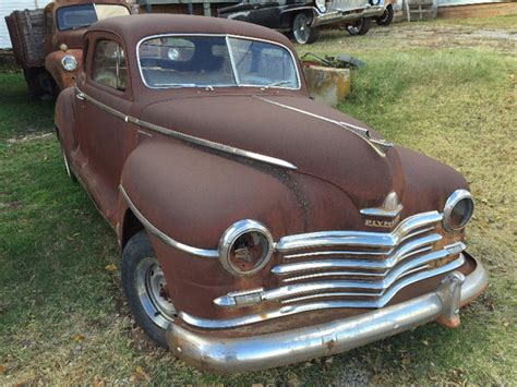 plymouth chandlers 1946 plymouth p15c business coupe chandler ok 1946