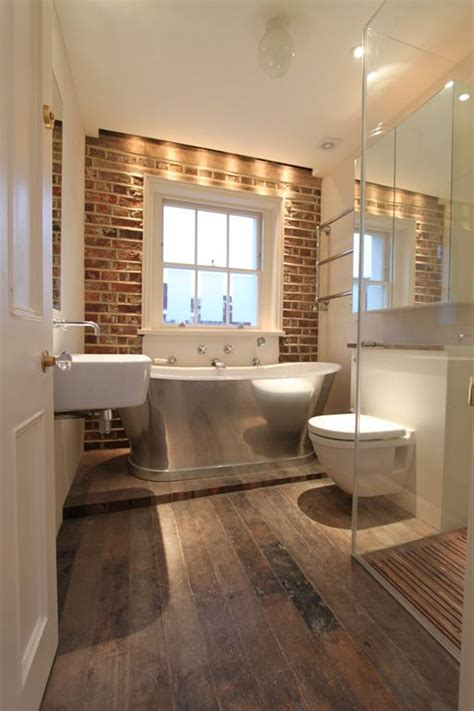 brick bathroom brick bathroom kitchens bathrooms pinterest
