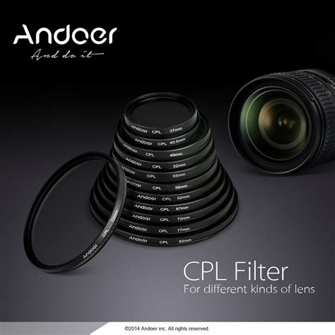 Optic Pro Filter Cpl 67mm 1 82mm circular polarizer reviews shopping 82mm circular polarizer reviews on aliexpress