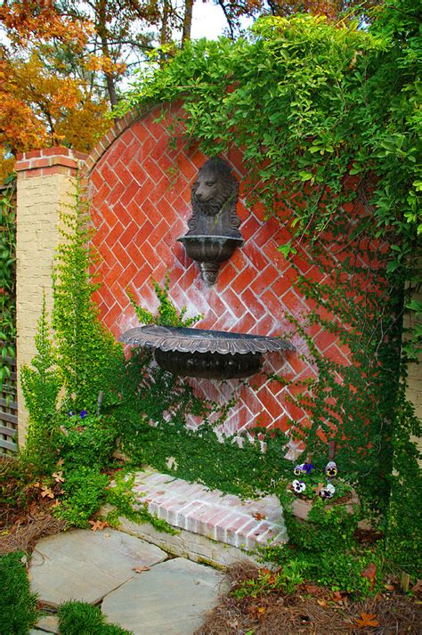 Garden Wall Decoration Ideas Terrific Outdoor Wall Fountains Clearance Decorating Ideas