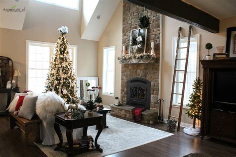 wisconsin home tour decorating a farmhouse farmhouse christmas home tour pt 1 farmhouse 40