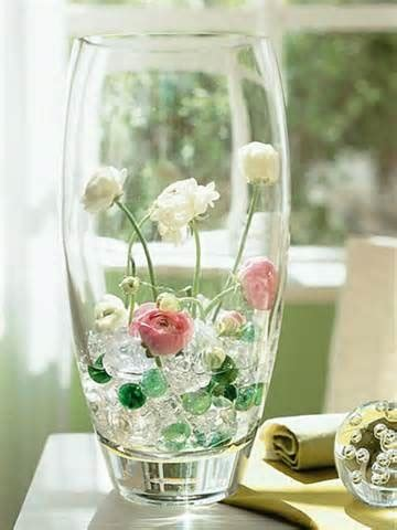 Decorating A Glass Vase by Glass Vase Decoration Ideas Home Design