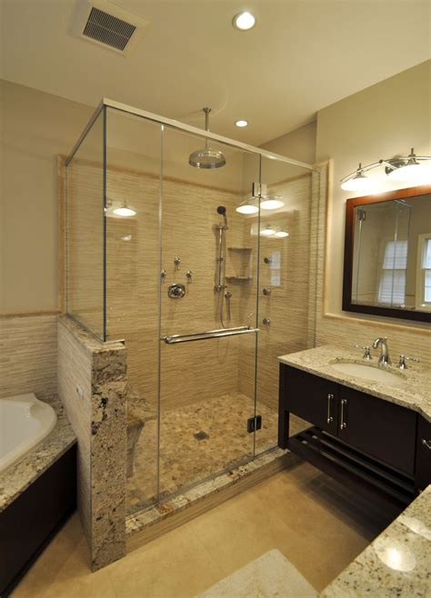 Standing Shower Glass Door Best 20 Stand Up Showers Ideas On Master Bathroom Shower Master Bathrooms And