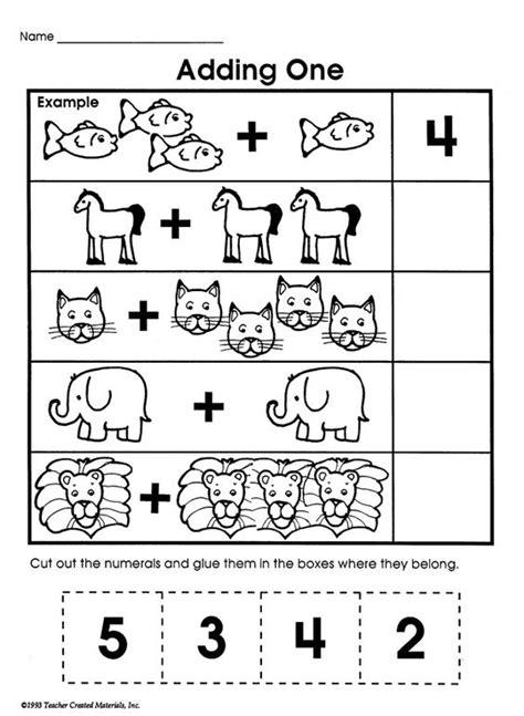 printable addition games for kindergarten adding one printable addition worksheet for kids math