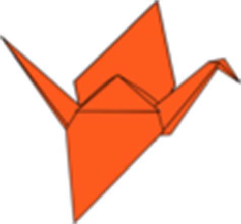 Origami Crane Clip - origami crane clip at clker vector clip