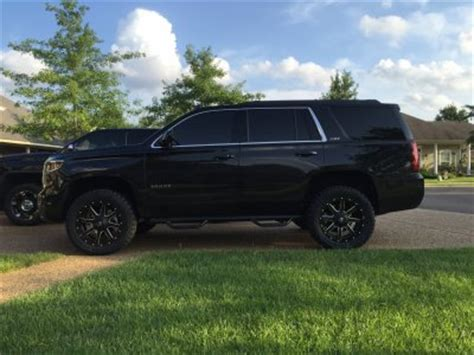 """2016 z71 tahoe 2"""" level on 285/55r20 