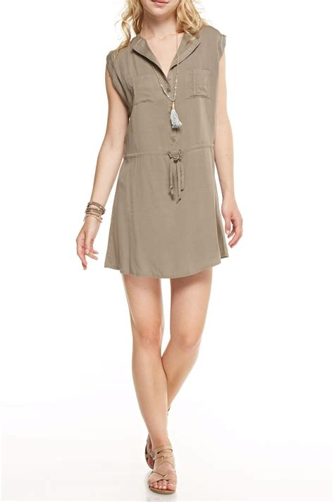 Olive Casual dreamers casual olive dress from wisconsin by apricot wisconsin dells shoptiques