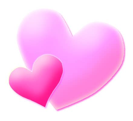 complementary of pink picture of pink heart cliparts co