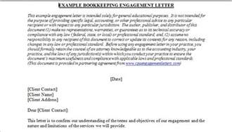 bookkeeping letter of engagement template how to open your own in home bookkeeping service 3rd