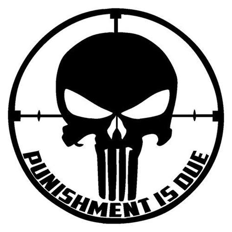 punisher template punisher skull vinyl decal my etsy store