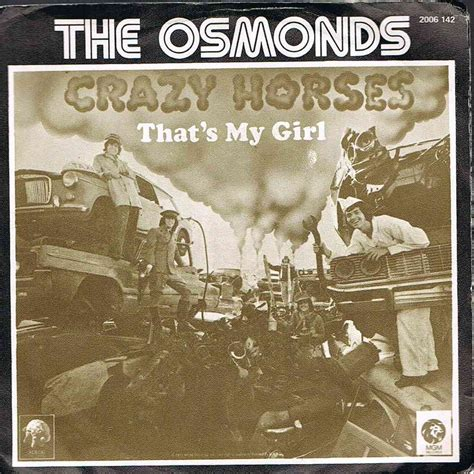The Osmonds Horses Dvd that s my by the osmonds sp with gigi5055