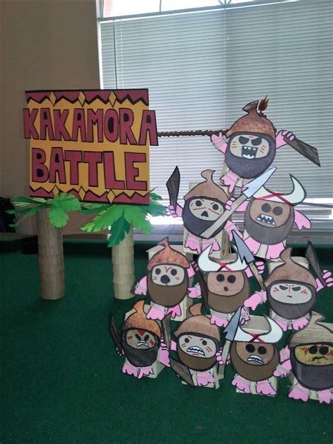 moana party game diy custom kakamora pirates game