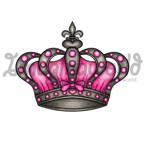 girly crown tattoo designs gallery crown drawing