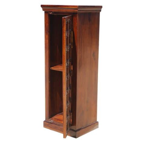 narrow wood storage cabinet closet bedroom furniture