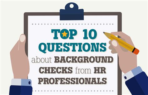 Apple Background Check Hireright Top 10 Questions About Background Checks From Hr Professionals It S Infographics