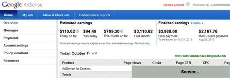 tutorial adsense blogspot tutorial adsense tutorial lengkap bisnis google adsense