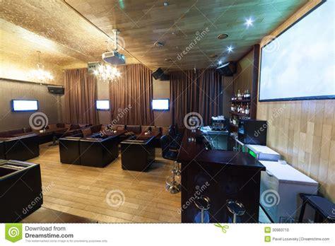 Interior Leather Bar Free by Stylish Interior Of Karaoke Bar Stock Photo Image 30983710
