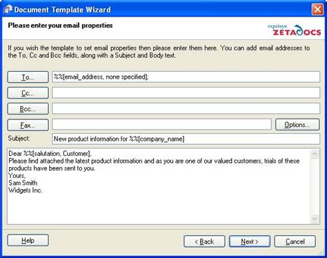 create document template tutorial 5 creating document templates