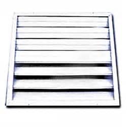 buy the ll bldg prods s24 attic fan shutter hardware world