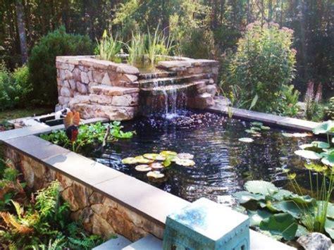 relaxing backyard ideas 75 relaxing garden and backyard waterfalls digsdigs