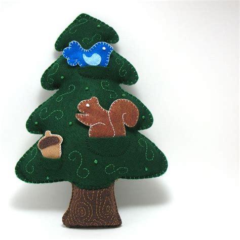 plush tree sewing pattern woodland forest tree pdf