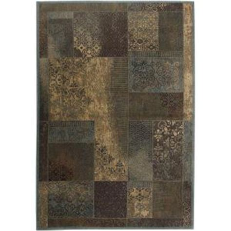 rizzy home bellevue brown paisley 3 ft 3 in x 5 ft 3 in