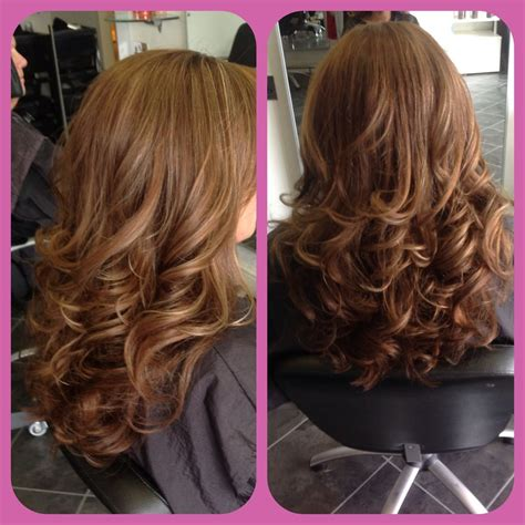 long layered haircut blow dry with lots of volume bouncy blow dry hairstyles pinterest blow dry hair