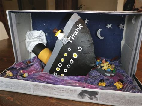 Titanic Did You Soul Project Titanic Diorama With Legos Crafty The He We And Lego