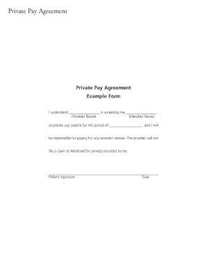 rate agreement template fillable christushealthplan pay agreement