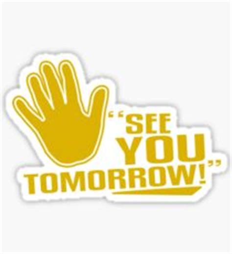 see you tomorrow i you books see you tomorrow stickers redbubble