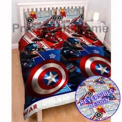 Iron Man Duvet Set Official Avengers Marvel Comics Bedding Bedroom