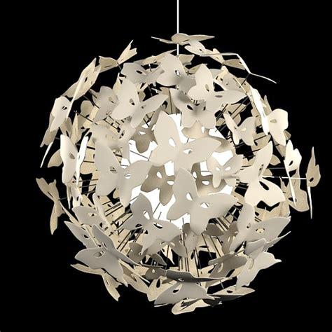 Butterfly Chandelier Light 3ds Max Chandelier Butterfly