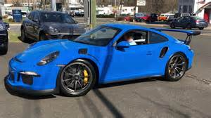 Porsche 911 Gt3 Rs Blue Pts Voodoo Blue Porsche 911 Gt3rs Startup Small