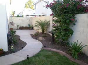 Backyard Misting Systems Arizona Tropical Landscape Design With Sod Palm Trees