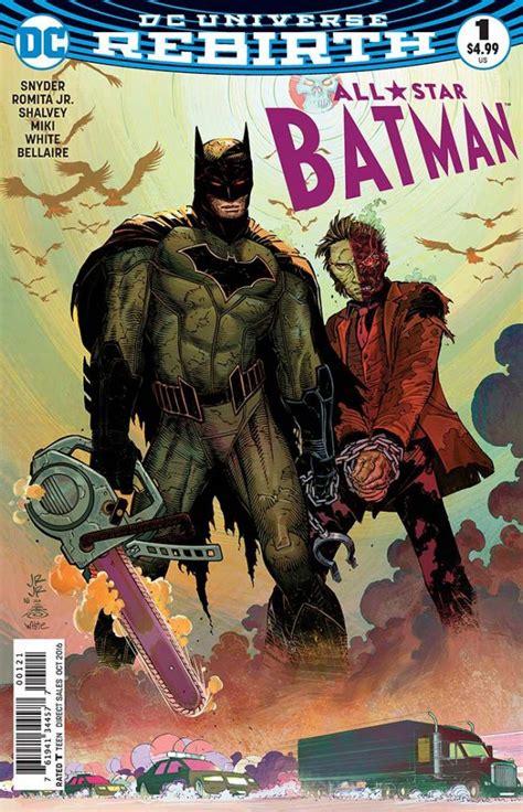 all star batman hc 1401269788 dc comics for august 10th 2016 the gaming gang