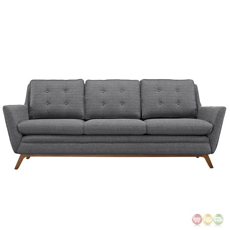 tufted upholstered sofa beguile contemporary button tufted upholstered sofa gray