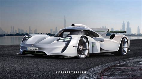 porsche  hybrid transformed  gt hypercar successor