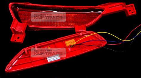 rear reflector sequential led light module for kia 2014 2016 all new sorento