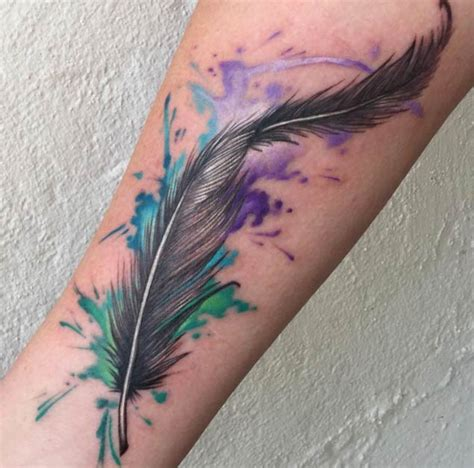 62 beautiful feather tattoos with meanings