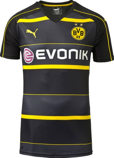 Jersey Dortmund Away 2016 2017 dortmund 16 17 away kit released footy headlines
