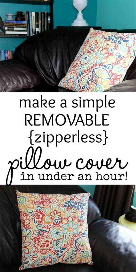 simple pillow covers and envelopes on
