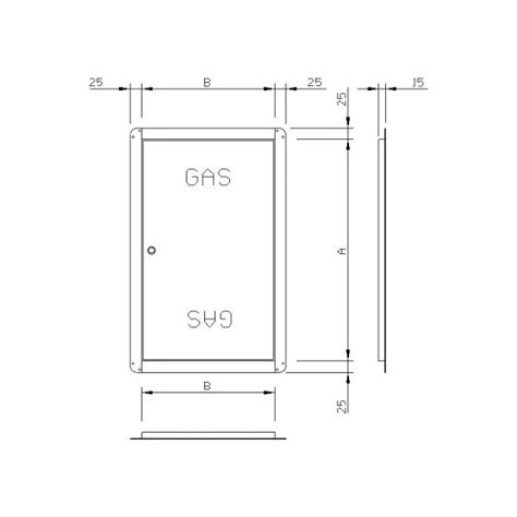 Meja Counter Per Meter door for gas meter galvanized centro edile lombardelli srl