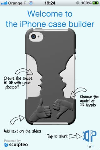 iphone cover design template design and 3d print a custom iphone with this new app