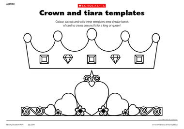 How To Make A Birthday Crown Out Of Paper - birthday tea craft for boys tiara s for the