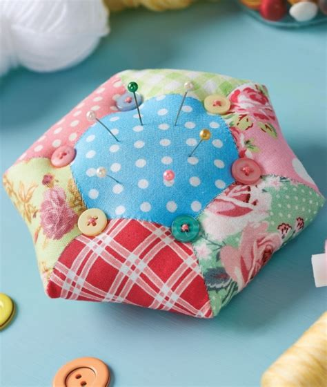 Patchwork Pincushion - homemaker magazine forum baking free downloads