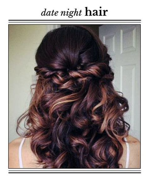 hairstyles for casual date 14 prettiest date night hairstyles night hairstyles