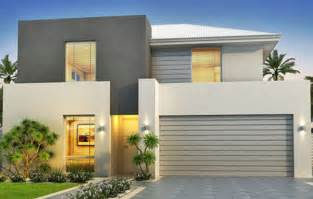 Art amp decor home designs modern style narrow block house designs grey